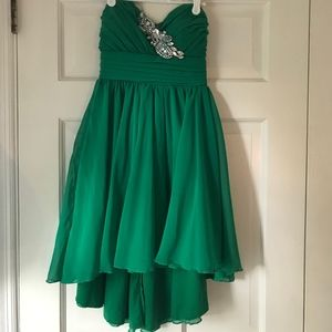 Nordstrom Emerald Green Semi Formal Dress